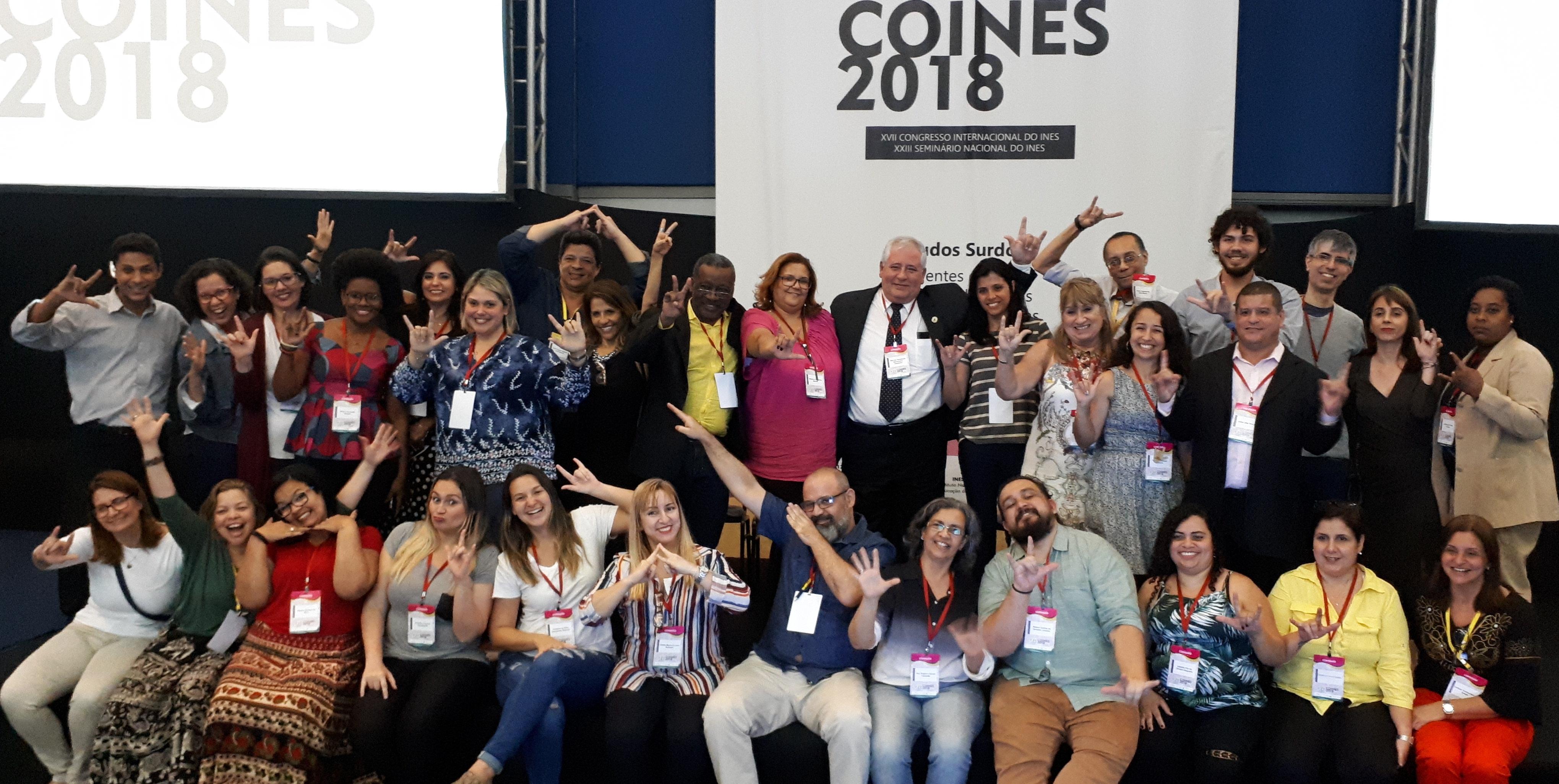 COINES 2018: XVII Congresso Internacional e XXIII Seminário Nacional do INES reúne quase duas mil pessoas