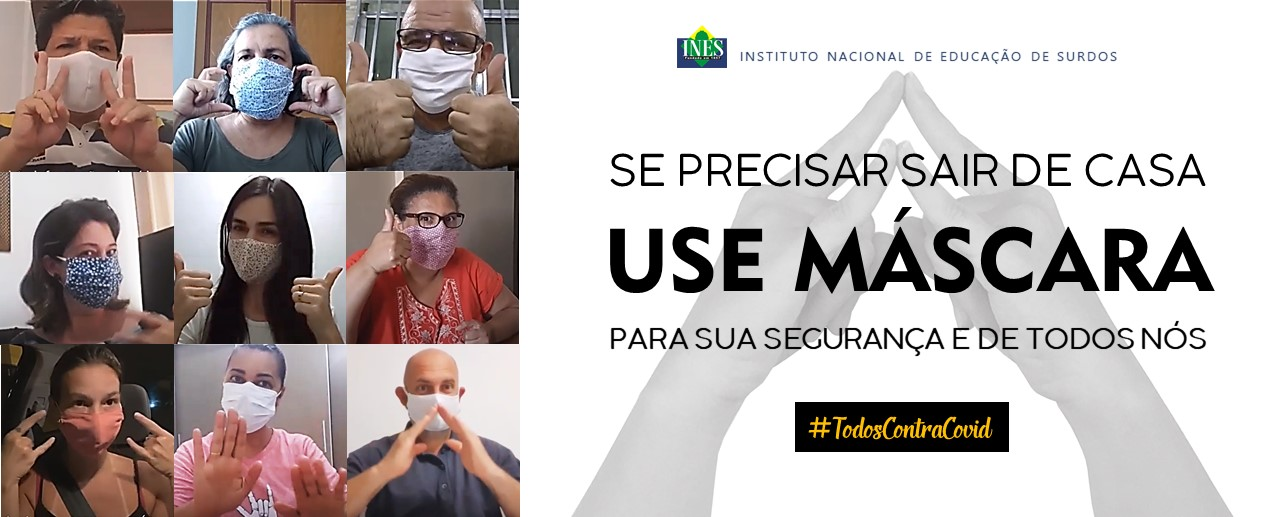 Use Máscara!!!