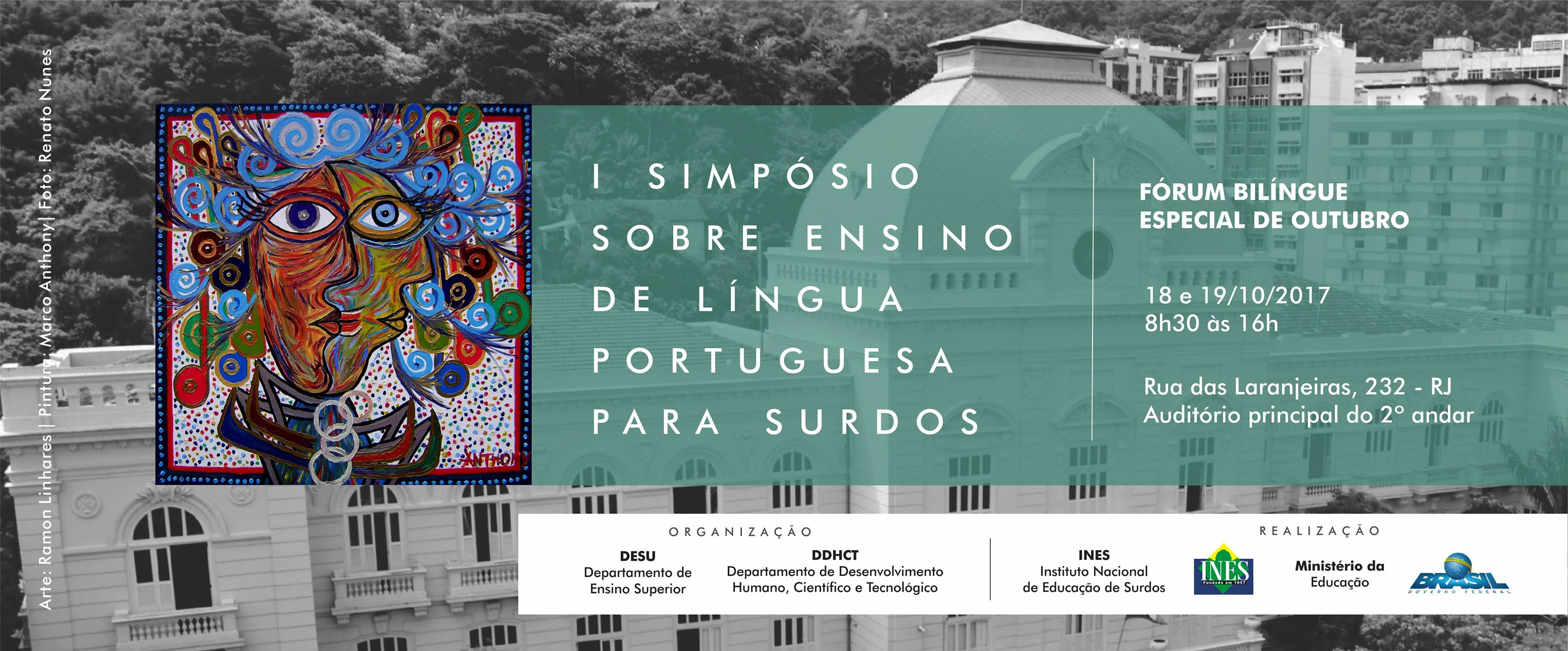 Simpósio sobre Ensino de Língua Portuguesa para Surdos encerra inscrições; evento acontece em outubro