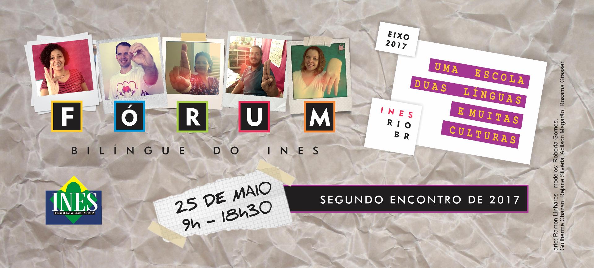 INES abre inscrições para o Fórum Bilíngue que ocorrerá dia 25 de maio