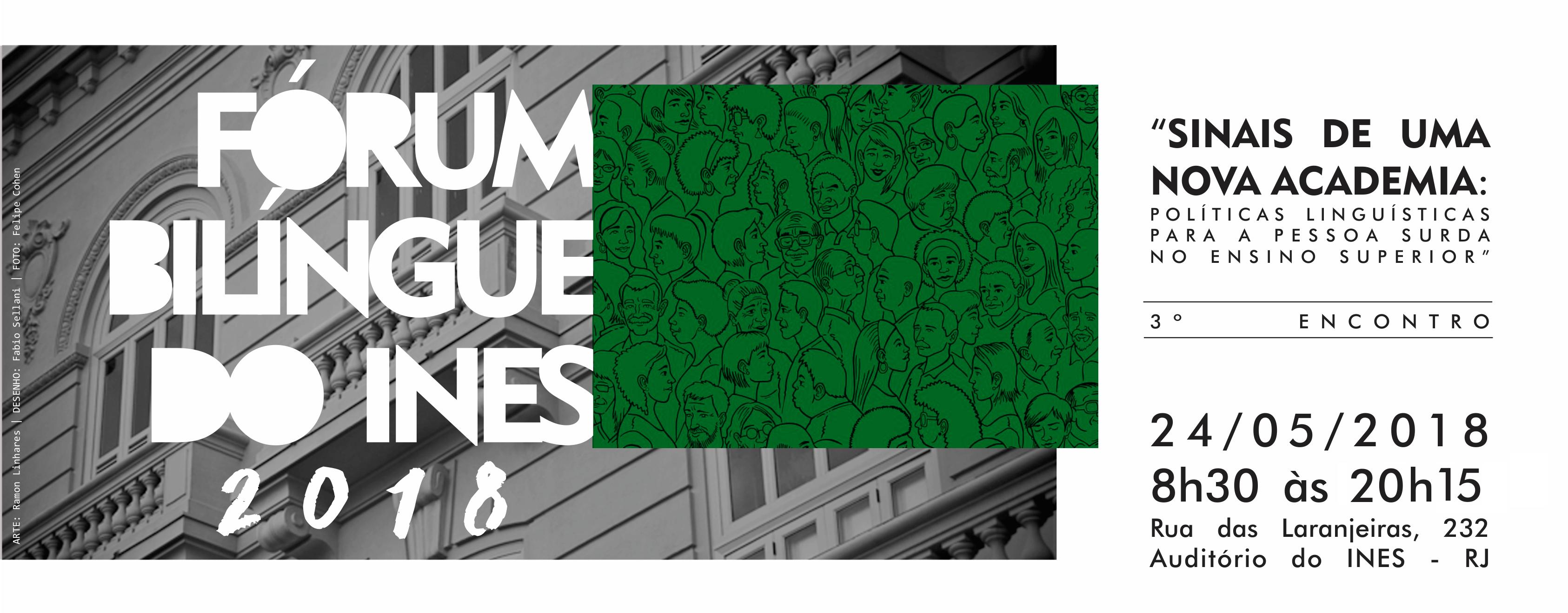 Próximo Fórum Bilíngue discutirá políticas linguísticas no ensino superior no dia 24 de maio; inscreva-se