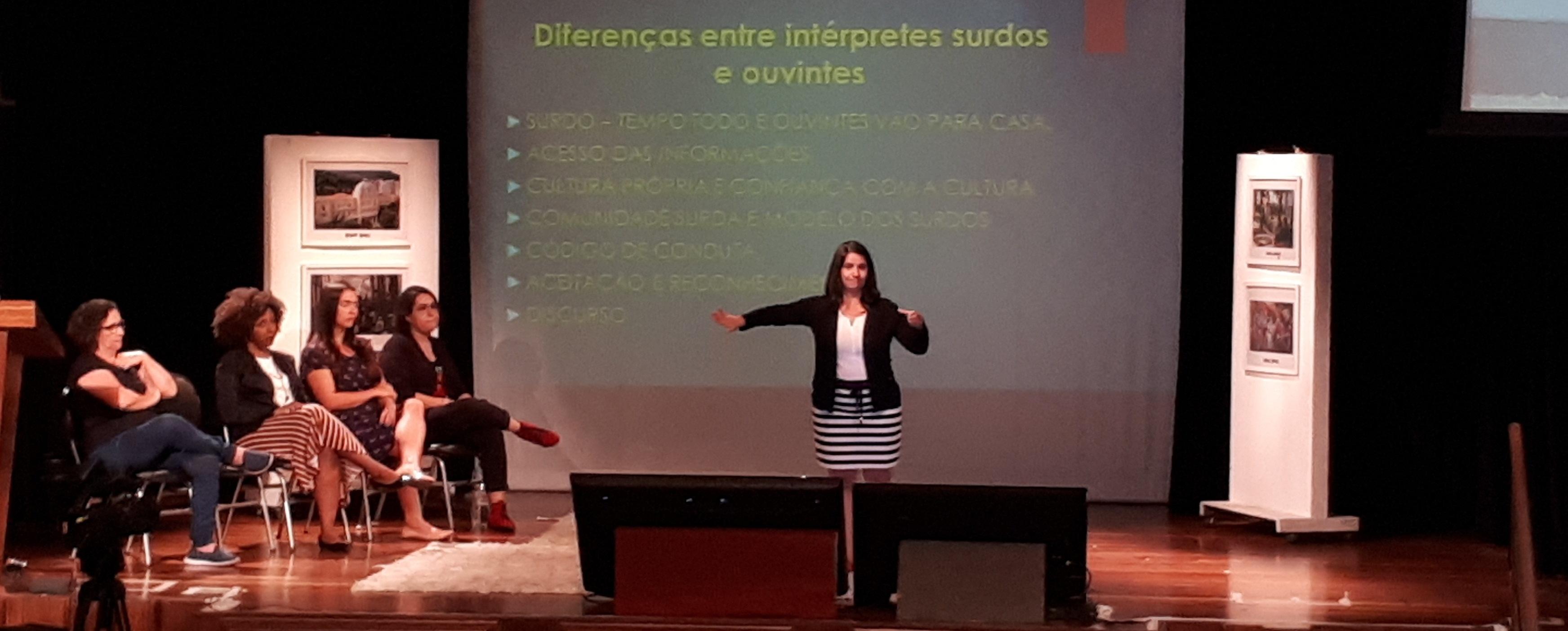 INES realiza I Seminário de Tradutores, Intérpretes e Guia-intérpretes