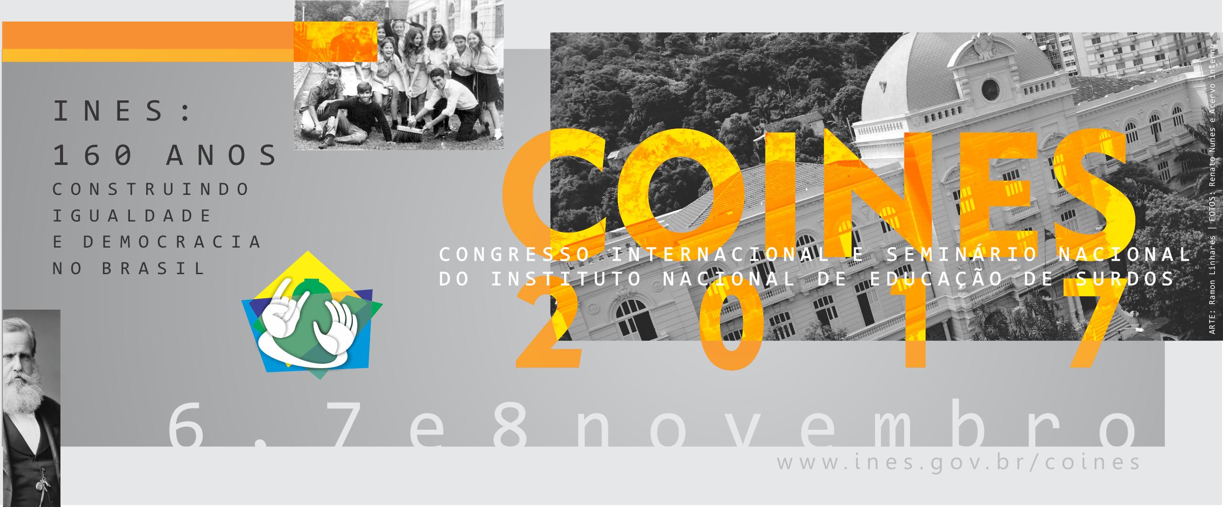 COINES 2017: INES abre inscrições para Congresso Internacional e Seminário Nacional
