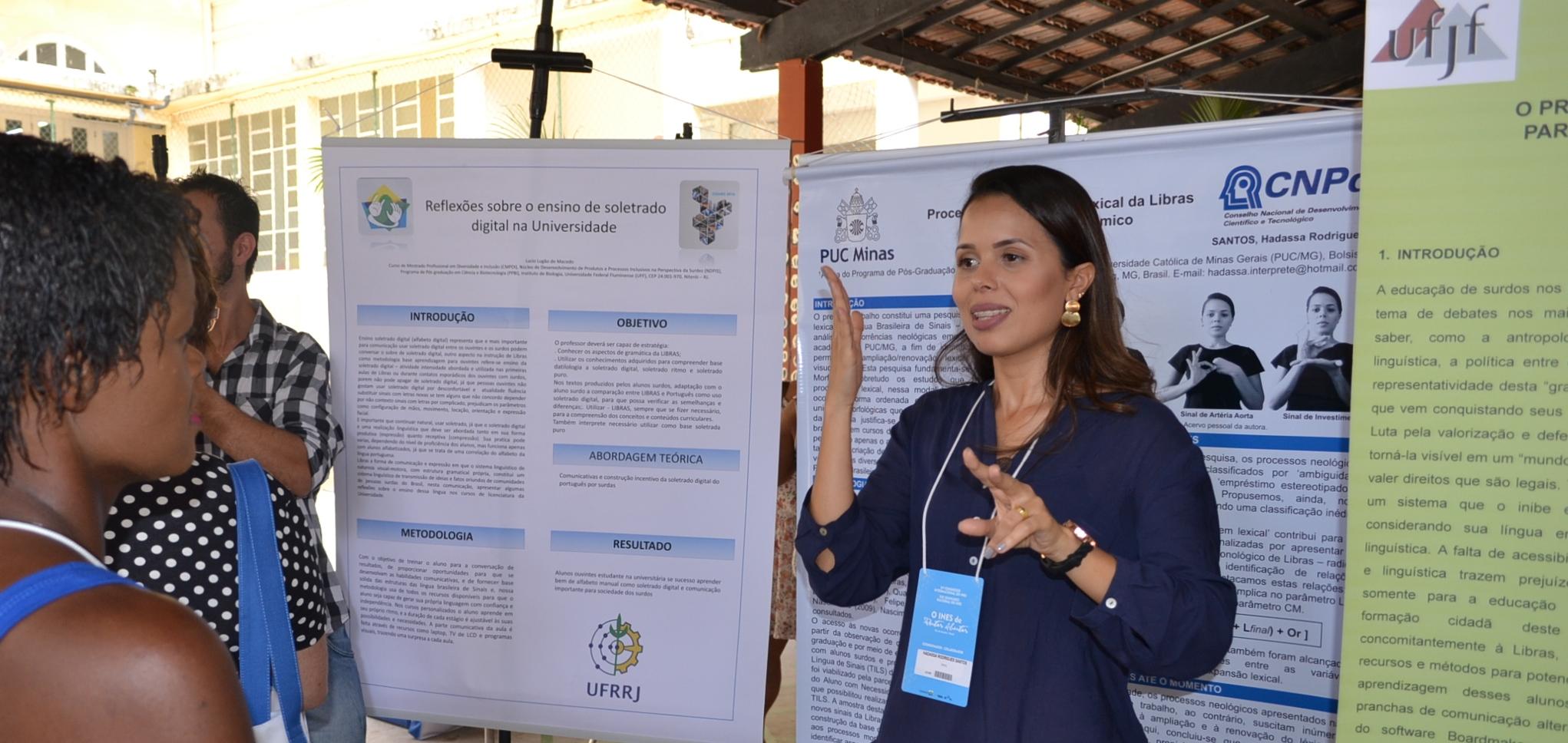 INES divulga relação de pôsteres premiados durante congresso e normas para publicação