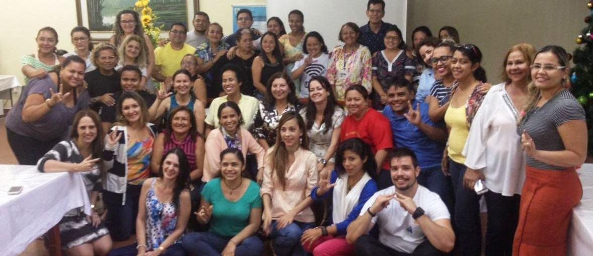 Professores do INES ministram capacitação em Manaus