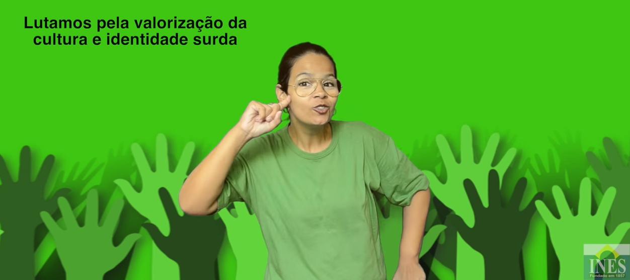 Dia Nacional da Libras: Professores do INES fazem vídeo em comemoração