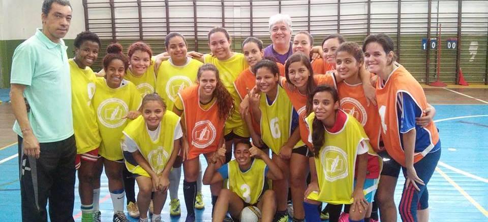 INES realiza torneio de futsal feminino e segue com inscrições abertas para seletivas