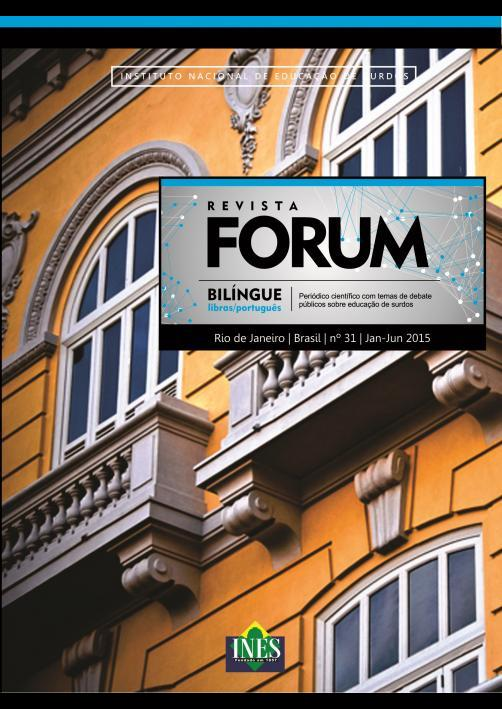 Revista Forum número 31, jan-jun 2015