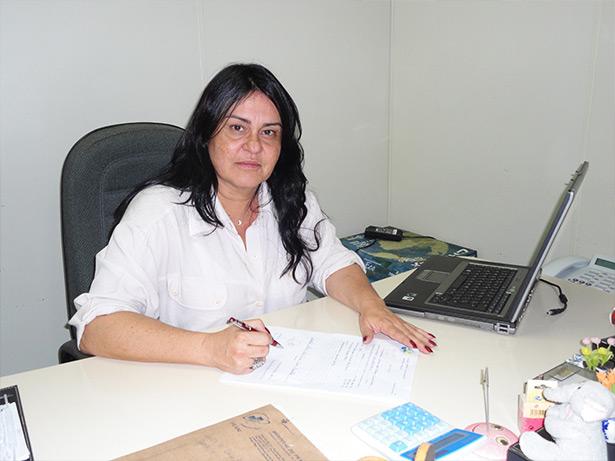 A médica Teresa Leite, autora do livro
